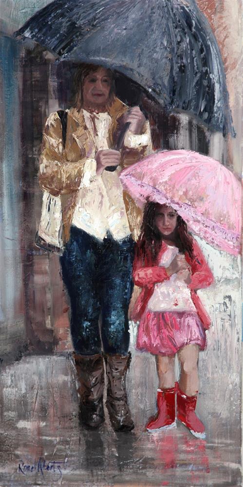"""Untitled"" original fine art by Ronel Alberts"
