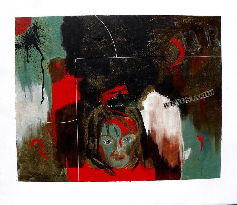 """What's Inside"" original fine art by cheryl buhrman"