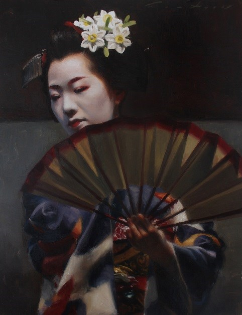 """""""Maiko Tomitae Dance"""" original fine art by Phil Couture"""