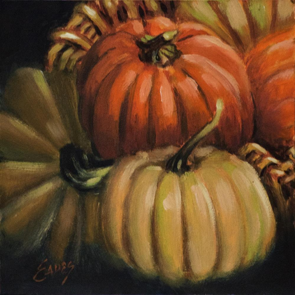 """Fall Fancy"" original fine art by Linda Eades Blackburn"