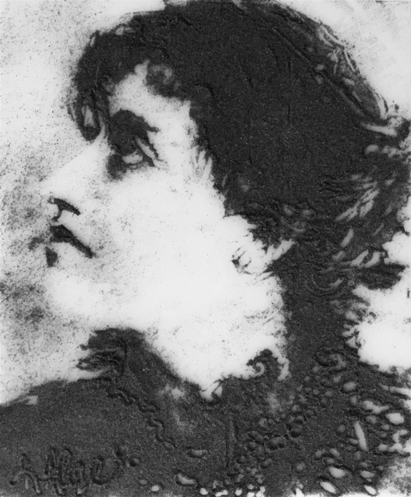 """Camille Claudel, Tragic Women in the Arts Series"" original fine art by Kelly Alge"