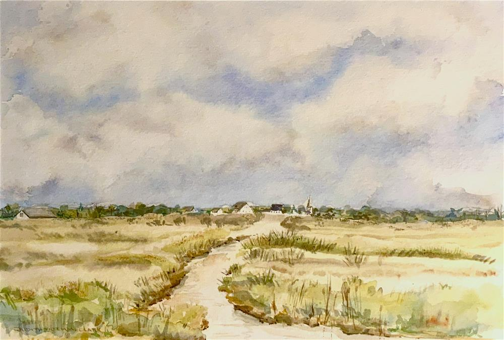 """Marshside"" original fine art by Judith Freeman Clark"