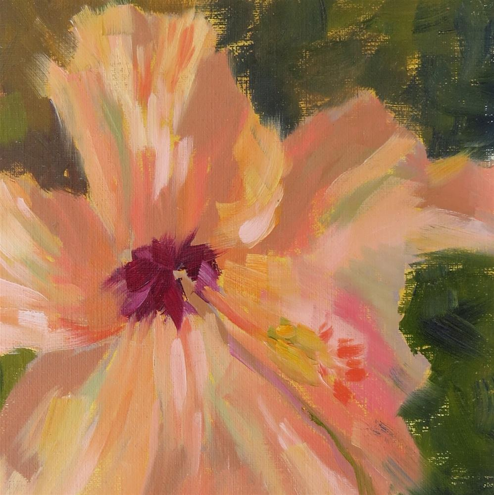 """Flora"" original fine art by Pam Holnback"
