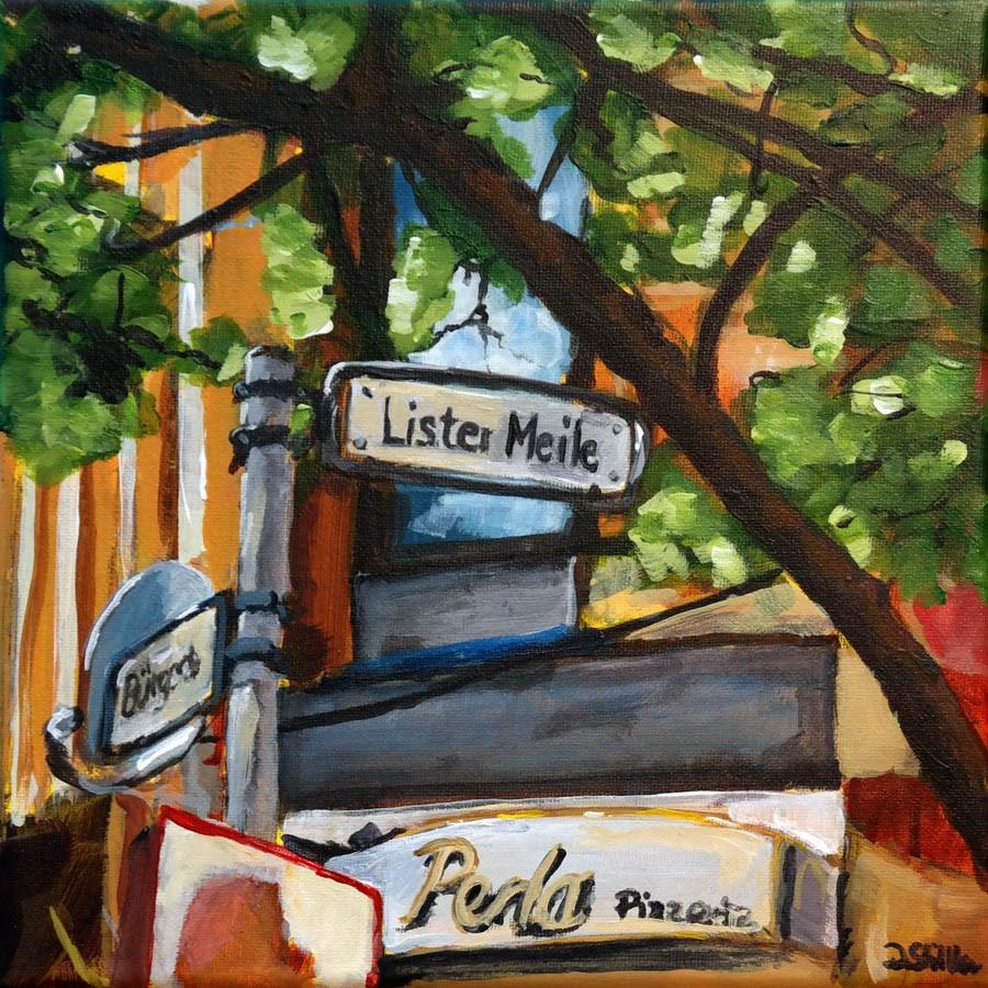 """1026 Lister Mile"" original fine art by Dietmar Stiller"