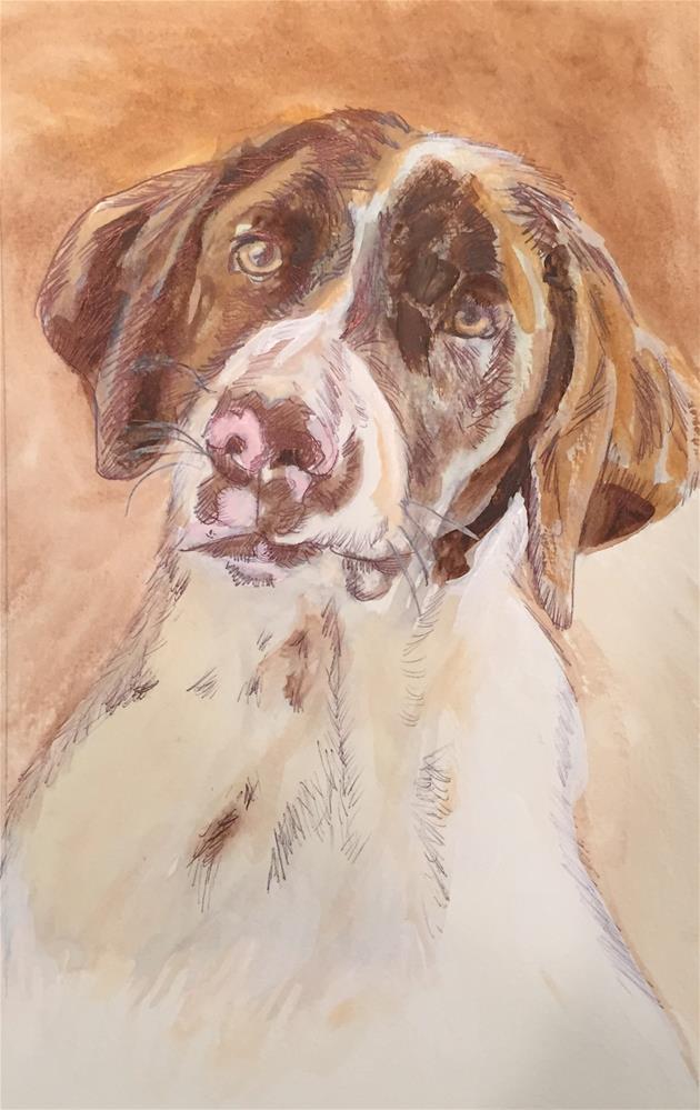 """Jake"" original fine art by Michael Mikottis"