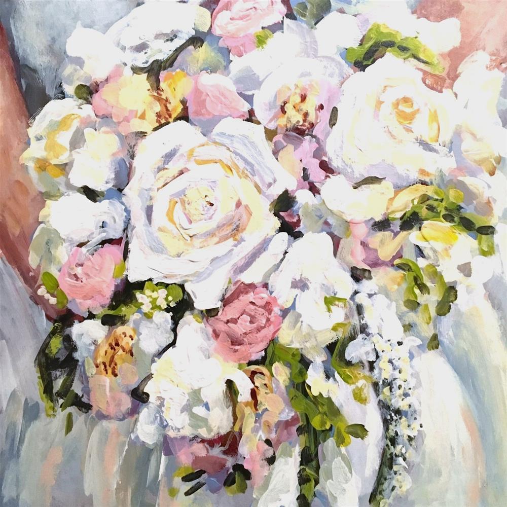 """Katie's Bouquet"" original fine art by Susan Elizabeth Jones"