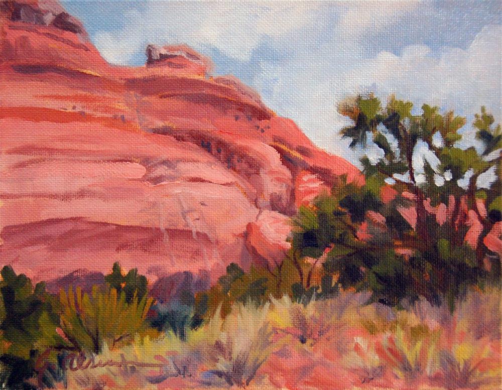 """Nearing the Arches"" original fine art by Gary Alsum"