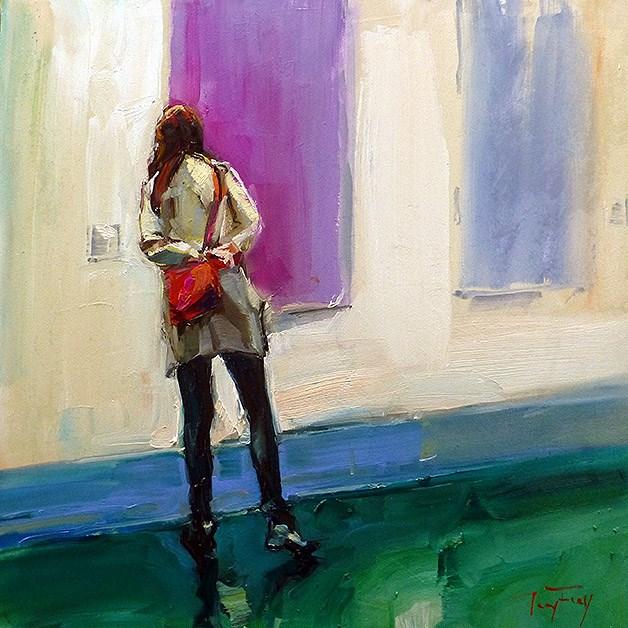 """Kunstmesse"" original fine art by Jurij Frey"