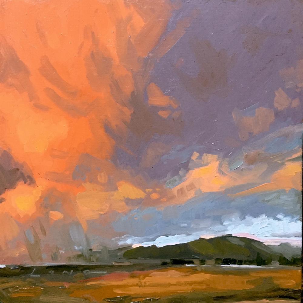 """Storm Edge"" original fine art by Chris Long"