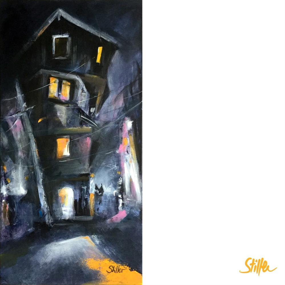 """3374 Dark November 15"" original fine art by Dietmar Stiller"
