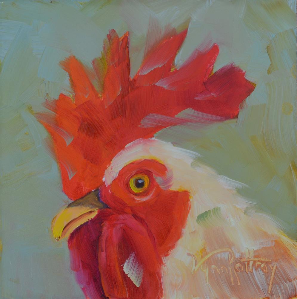 """""""Gus"""" original fine art by Lynn Rattray"""