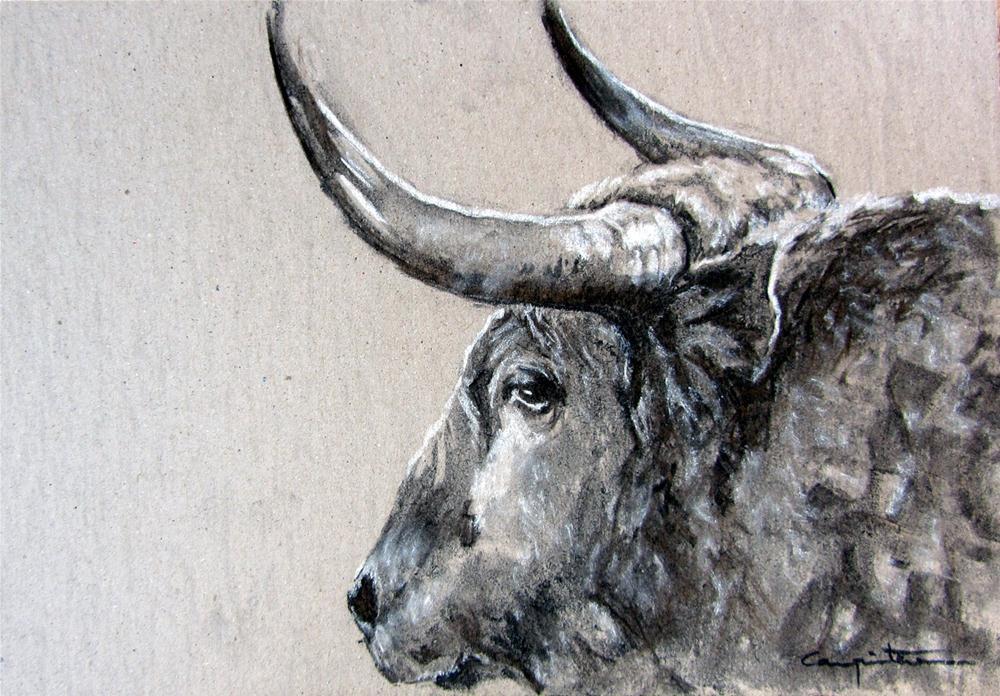 """""""Pocapena"""" original fine art by Eduardo Carpintero"""