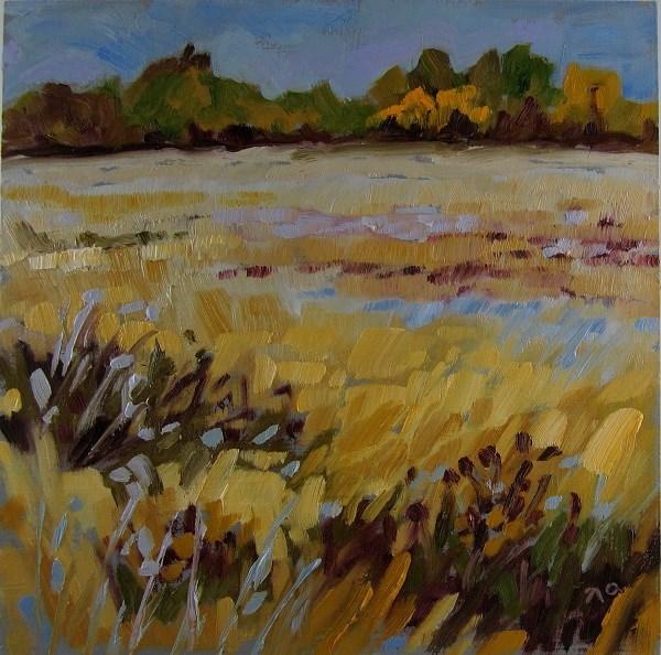 """""""Little Prairie"""" original fine art by Nicki Ault"""