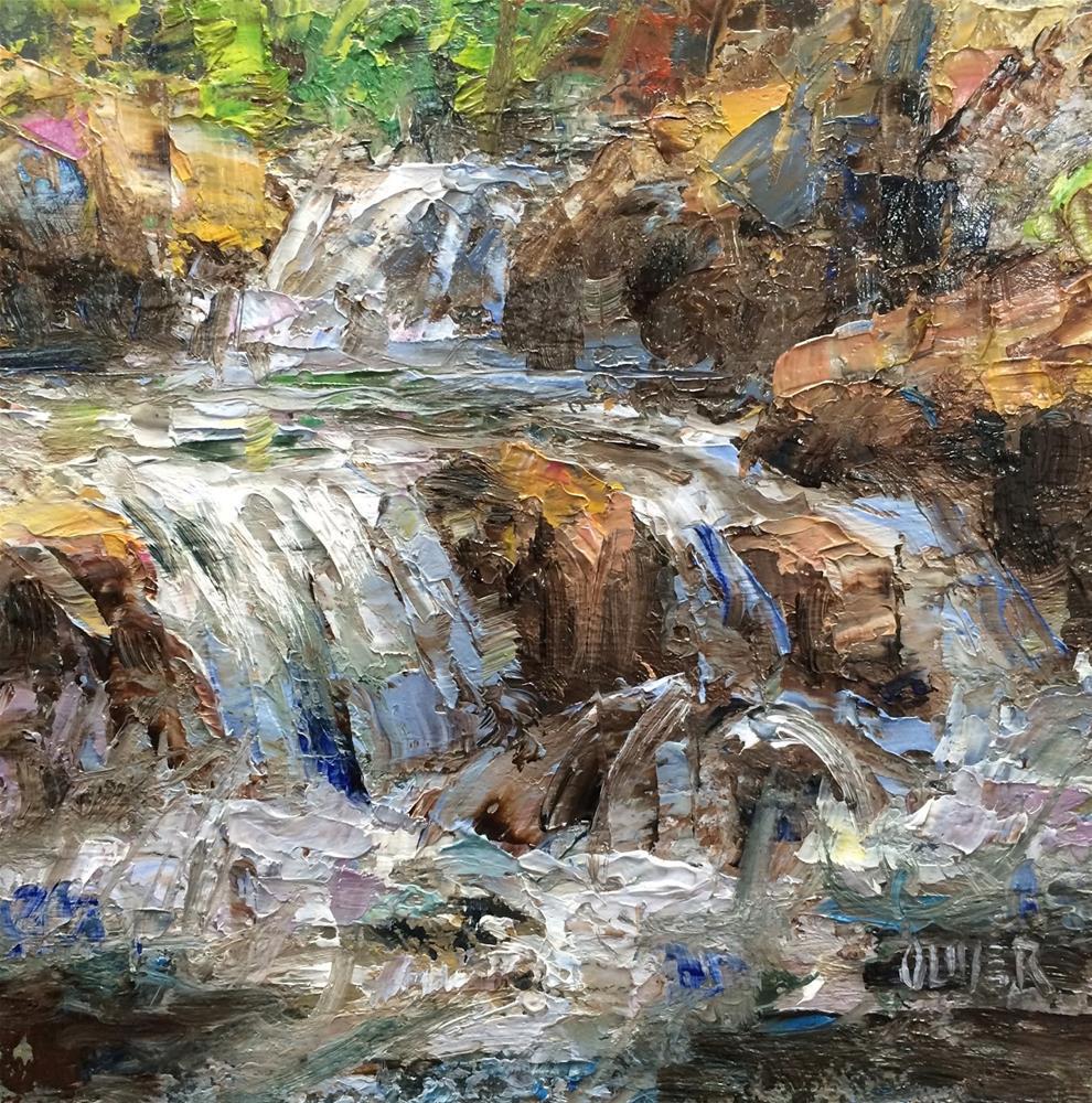 """""""Life Force."""" original fine art by Julie Ford Oliver"""