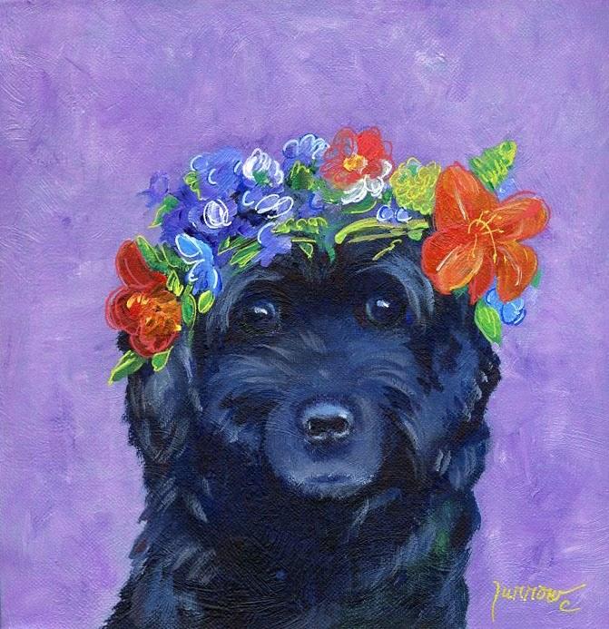 """MeeMee"" original fine art by Sue Furrow"