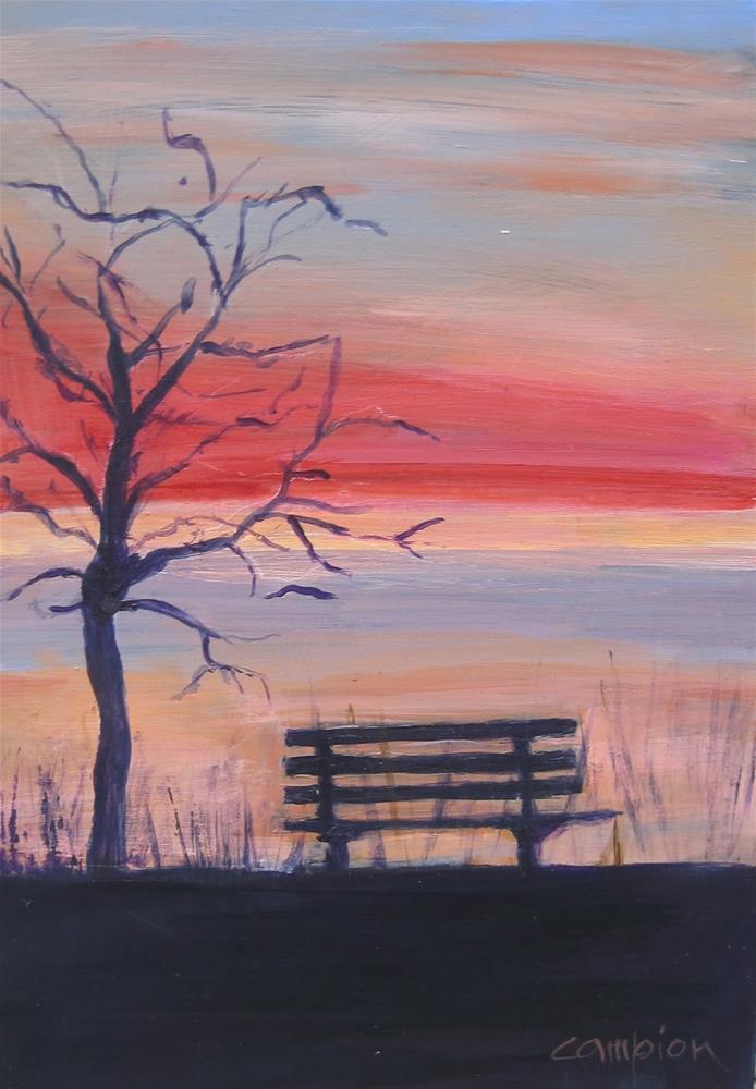 """A New Day"" original fine art by Diane Campion"