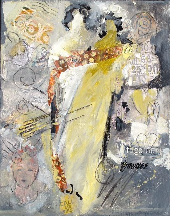"""Call Me First 13041"" original fine art by Nancy Standlee"