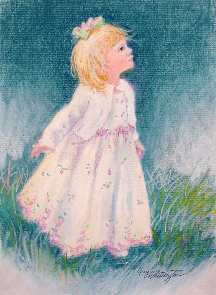 """Ella"" original fine art by Margie Whittington"