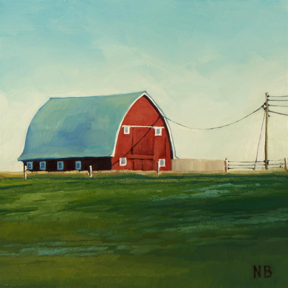 """Day is Done"" original fine art by Nora Bergman"