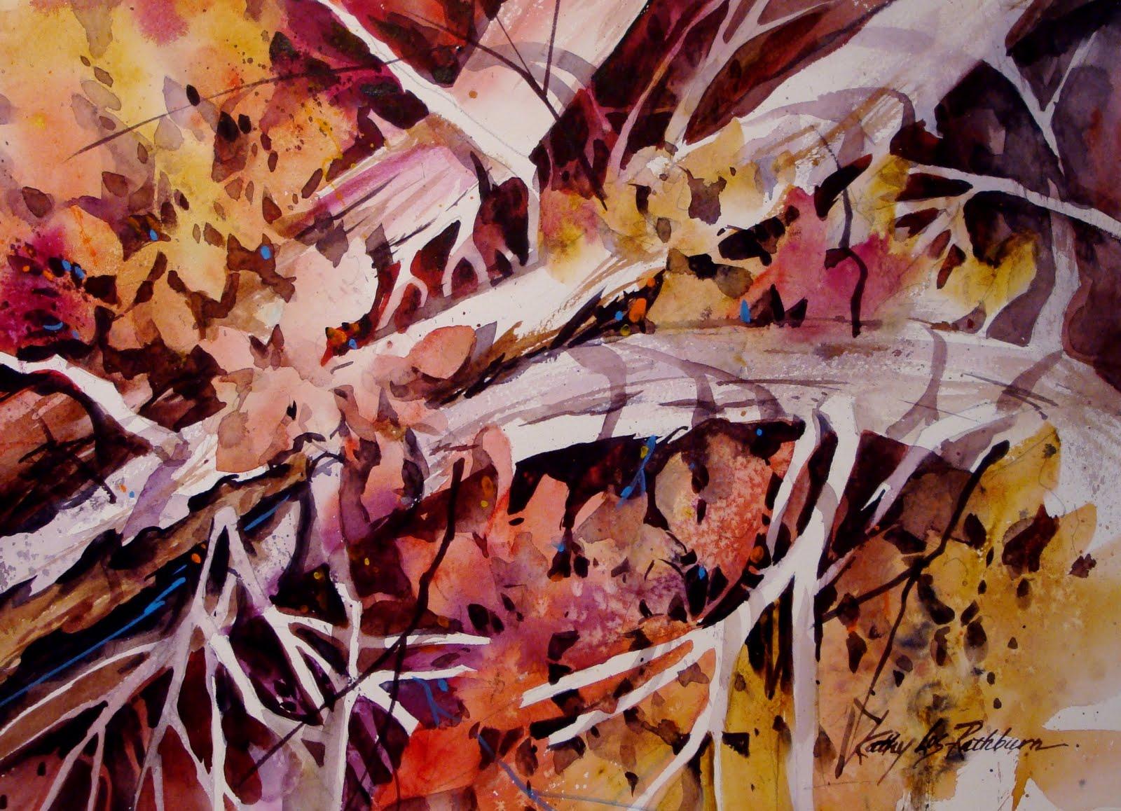 """Branching Out"" original fine art by Kathy Los-Rathburn"