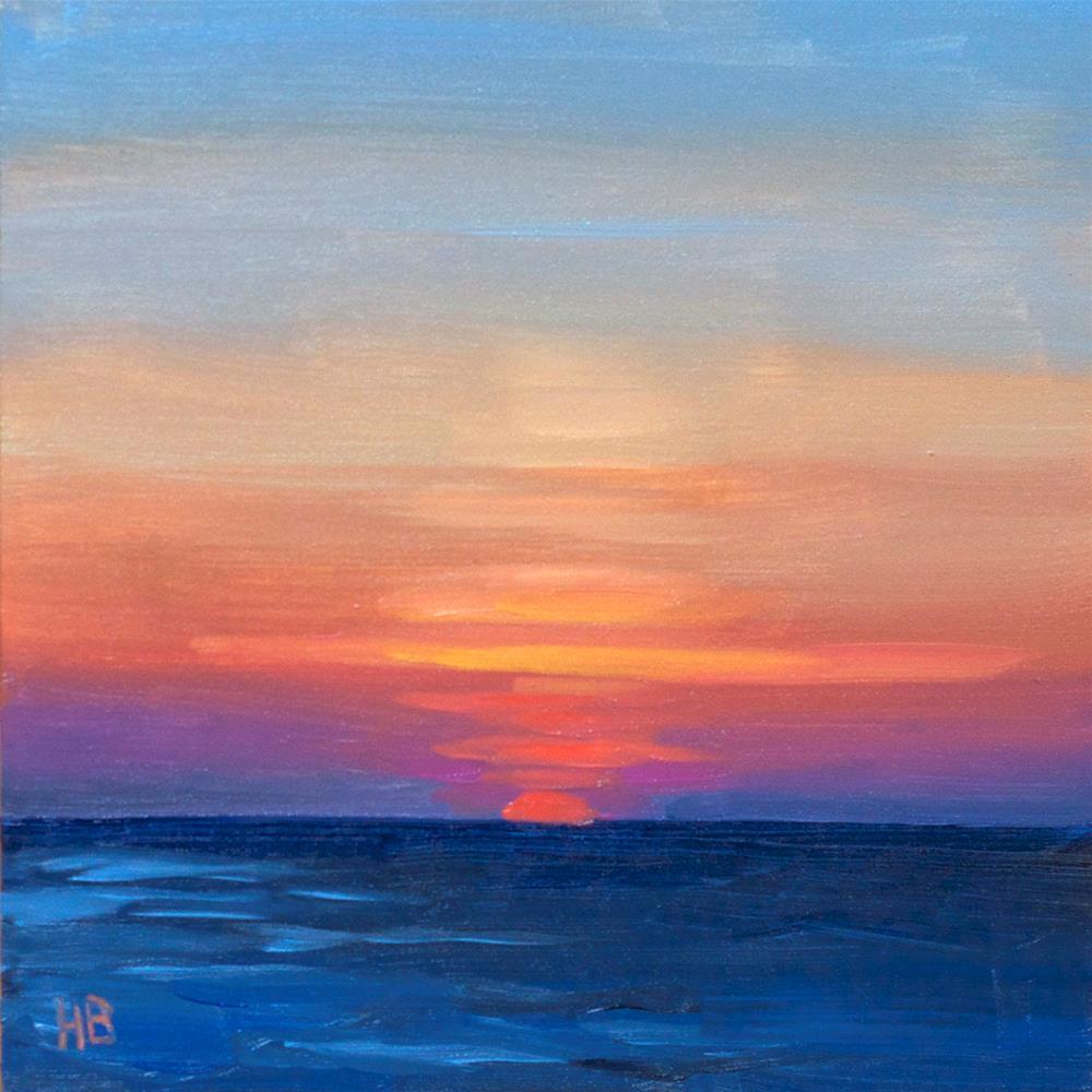"""""""First Light"""" original fine art by Heather Bullach"""