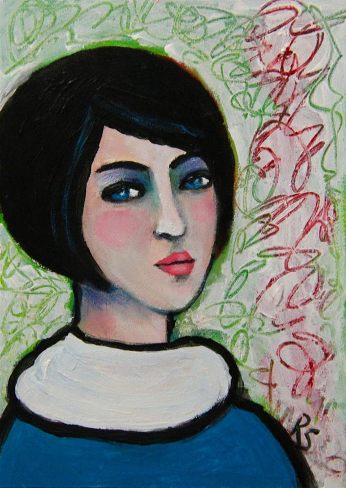 """Gemma"" original fine art by Roberta Schmidt ArtcyLucy"