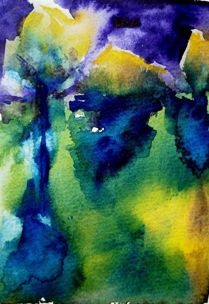 """Sorrow"" original fine art by Amy Bryce"
