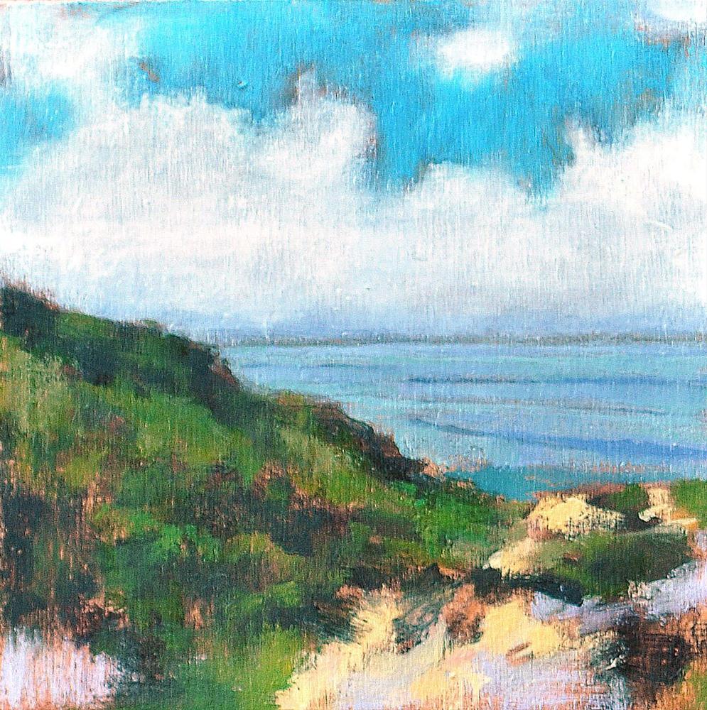 """""""La Jolla Landscape"""" original fine art by Kevin Inman"""