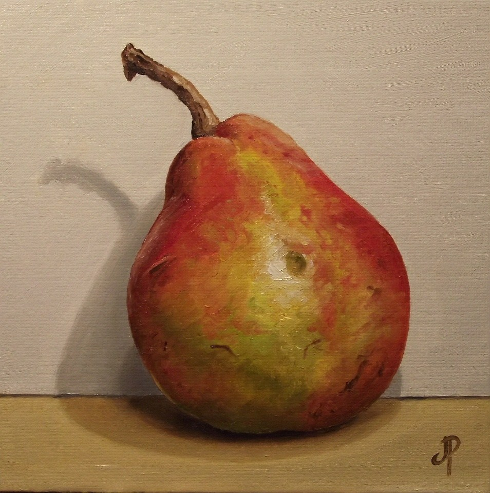 """Blush Pear"" original fine art by Jane Palmer"