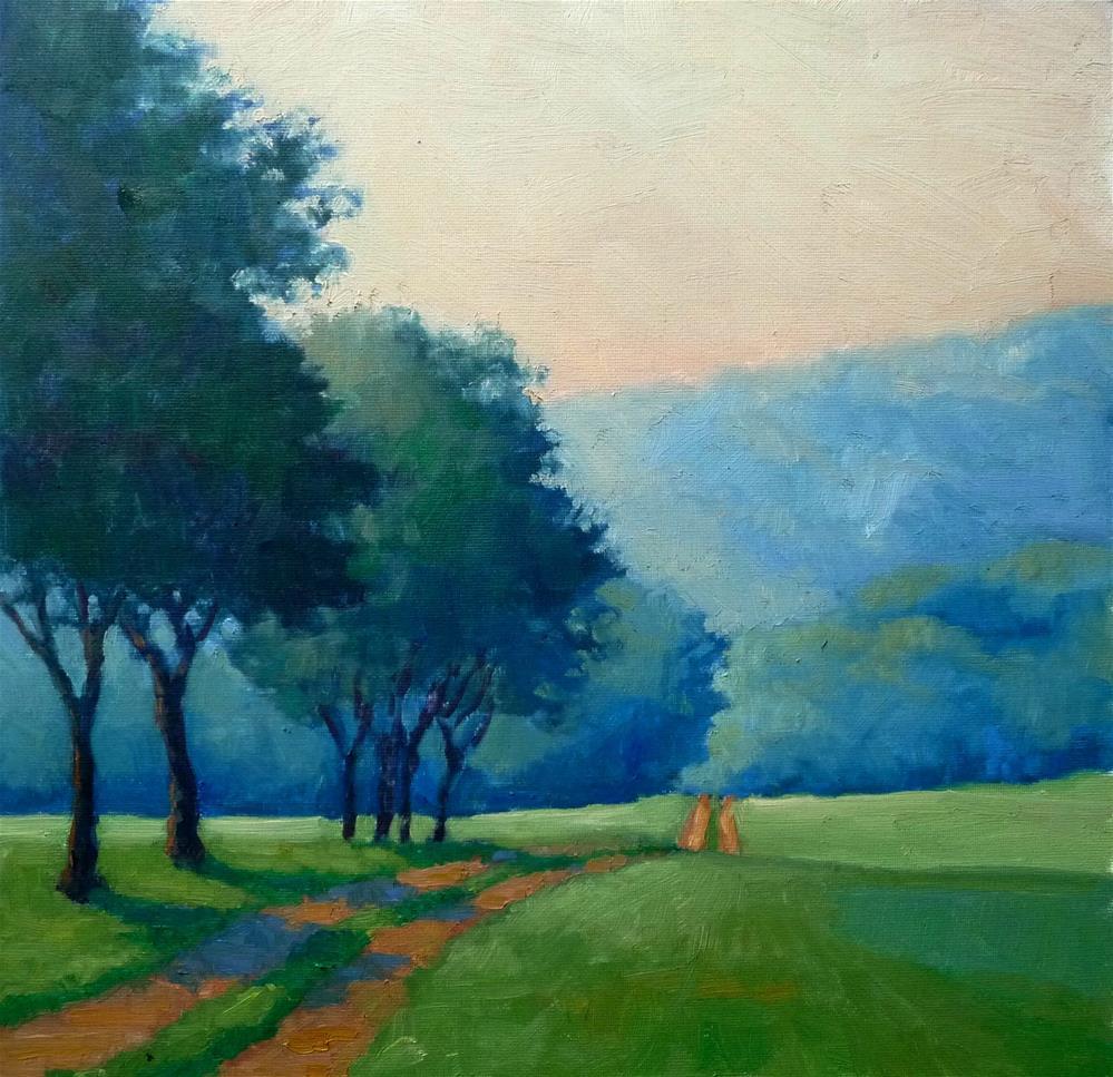 """""""Summer Haze"""" original fine art by Lisa Kyle"""