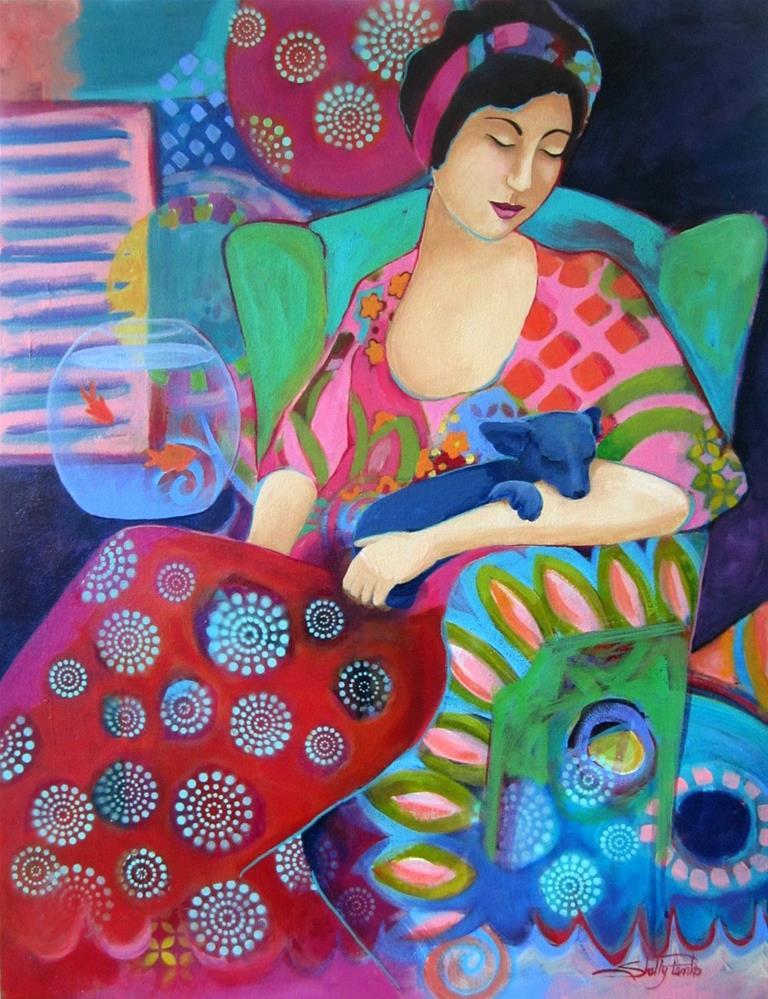 """""""Bohemian Beauty"""" original fine art by Shelly Penko"""