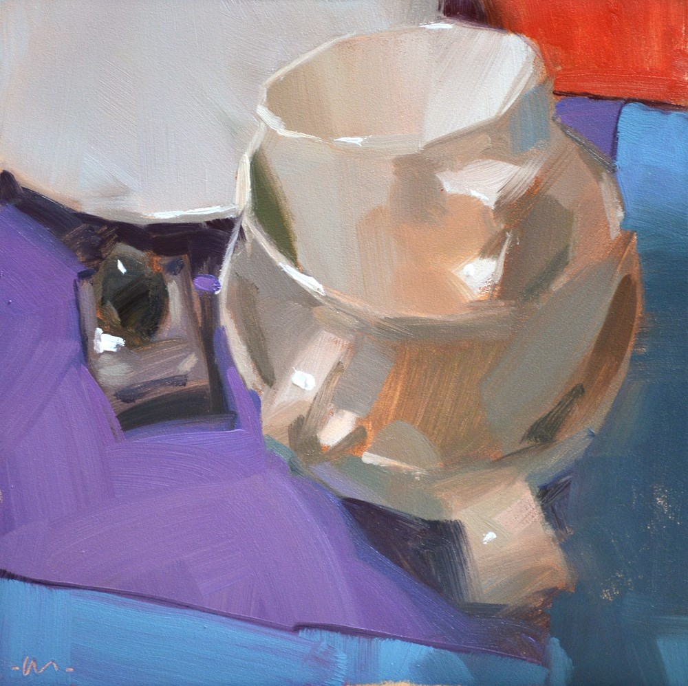 """Salty Stack"" original fine art by Carol Marine"