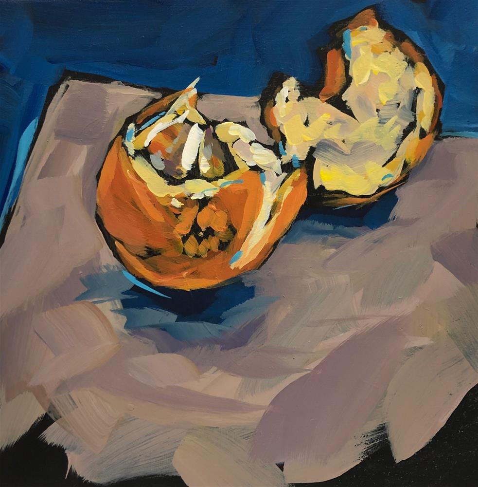 """It's A-PEELing"" original fine art by Kat Corrigan"