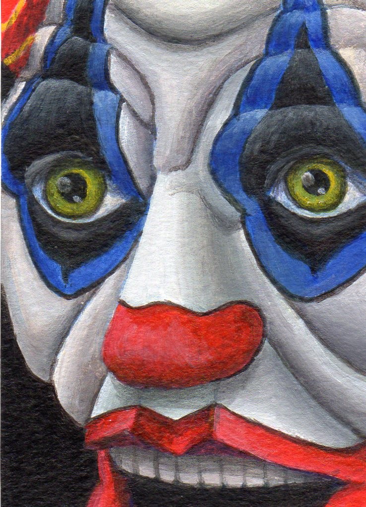 """Nightmare"" original fine art by Debbie Shirley"