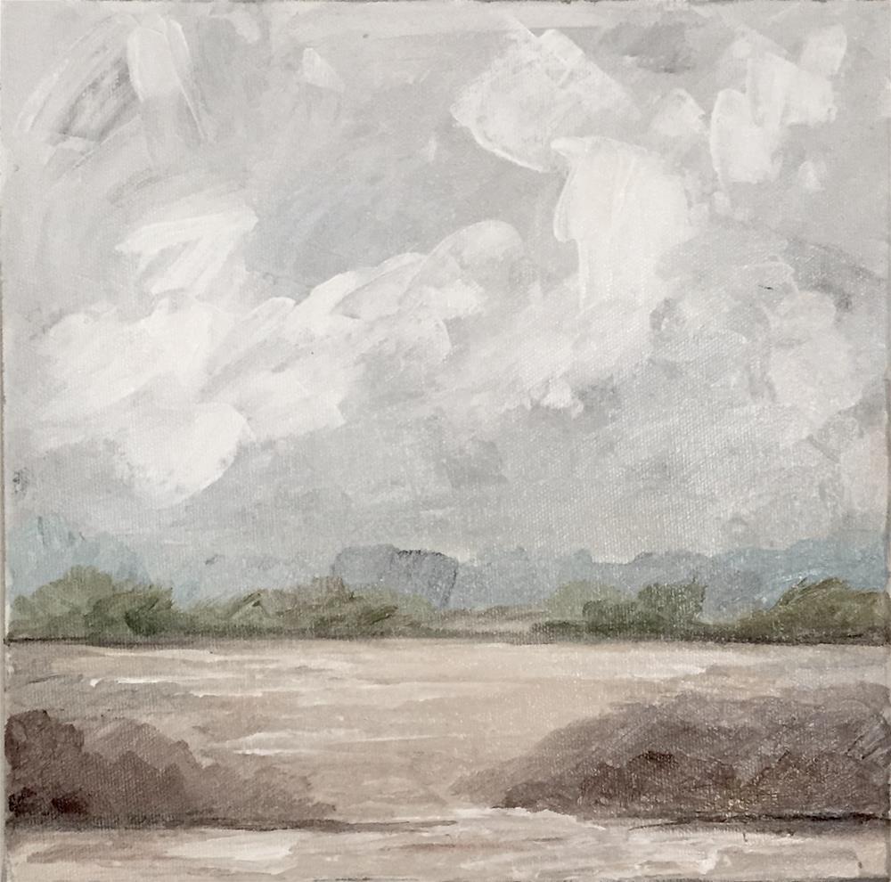 """Glory Over the Earth"" original fine art by Makenzi Tew"
