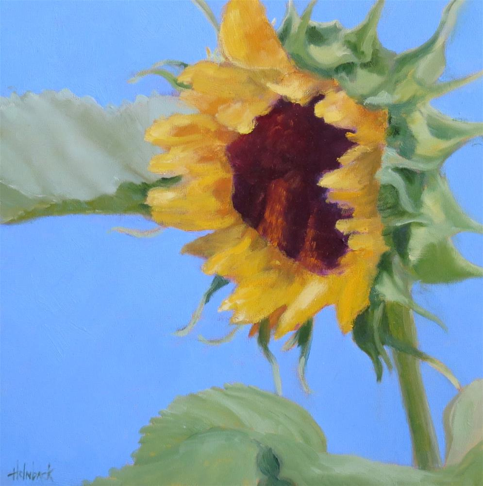 """Following The Sun"" original fine art by Pam Holnback"
