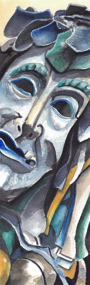 """3108 Shrovetide"" original fine art by Dietmar Stiller"