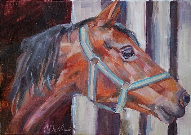 """Anticipation"" original fine art by Carol DeMumbrum"