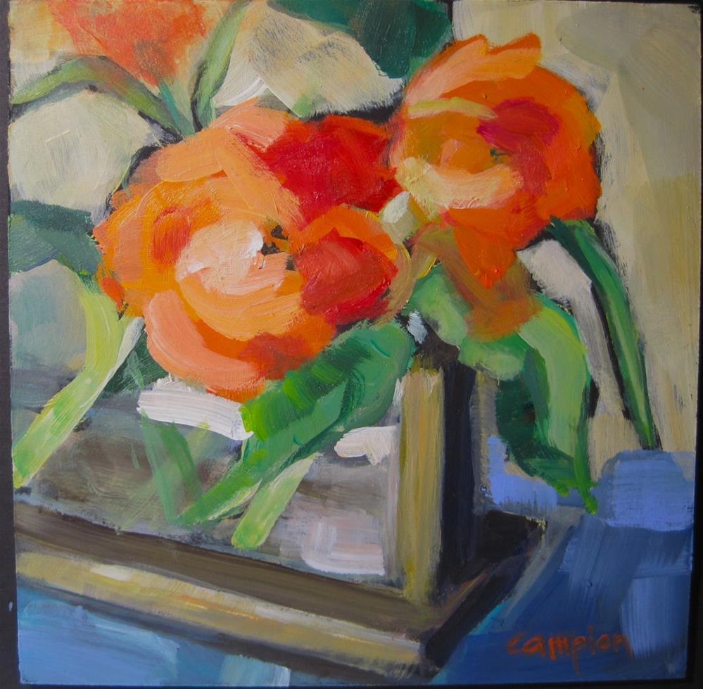 """""""325 Support"""" original fine art by Diane Campion"""