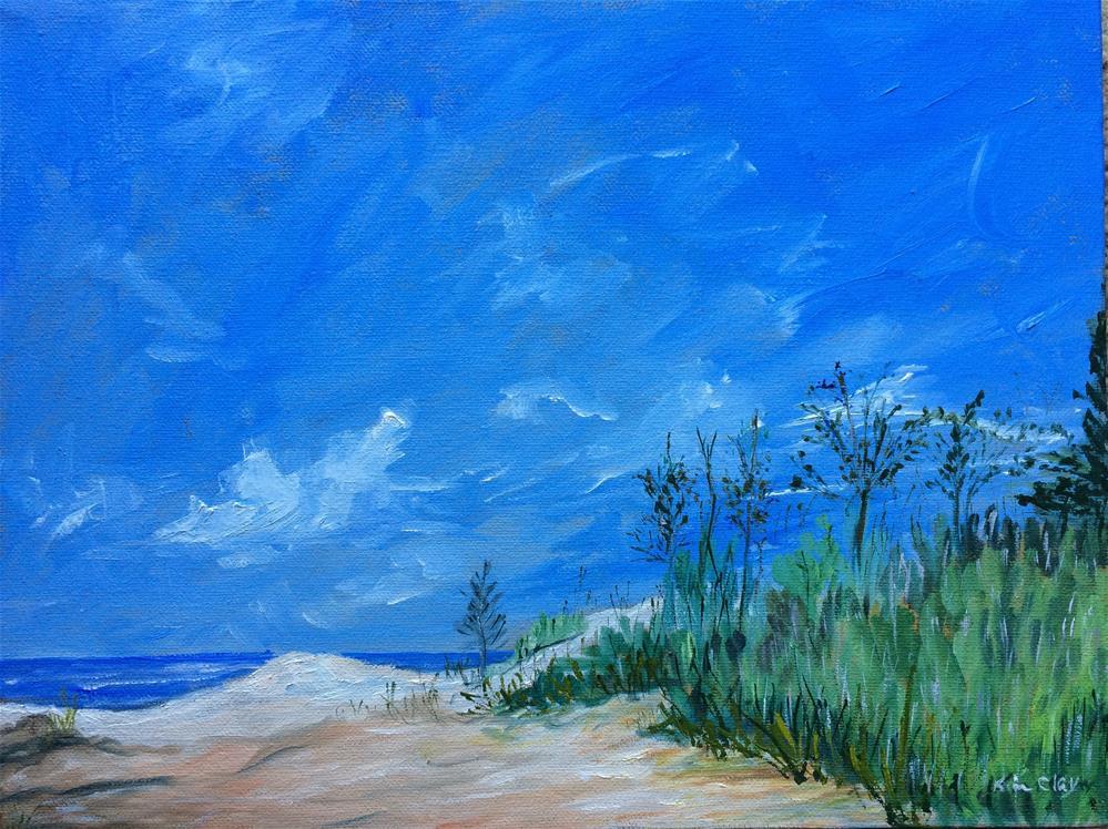 """Cape May"" original fine art by Kim Clay"