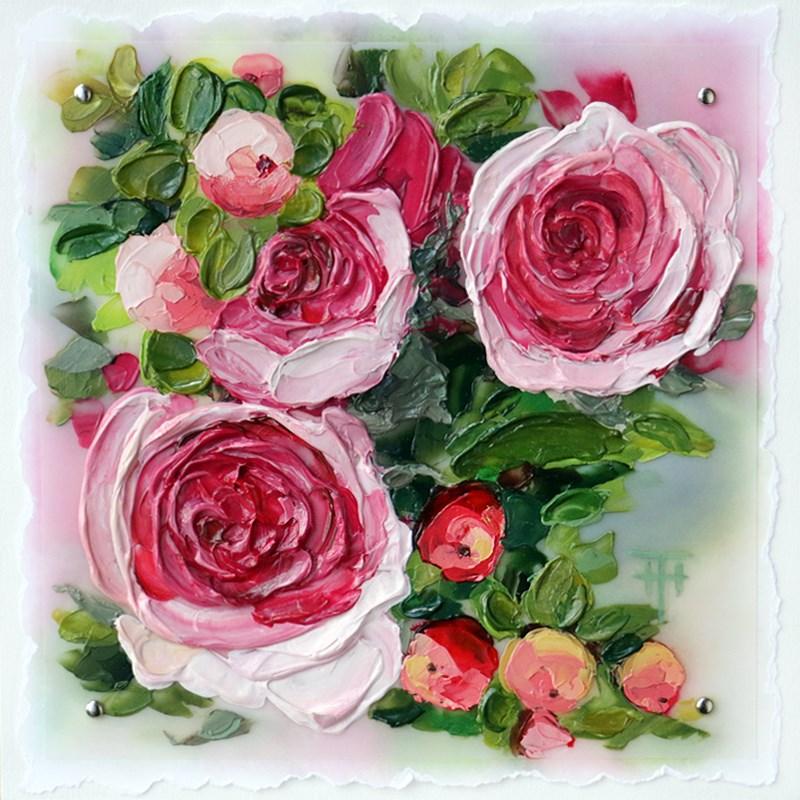 """Captivating Blush"" original fine art by Terri Heinrichs"