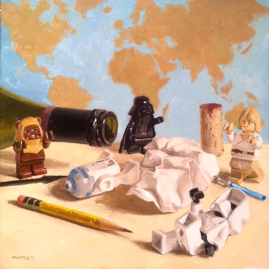 """After"" original fine art by Michael Naples"