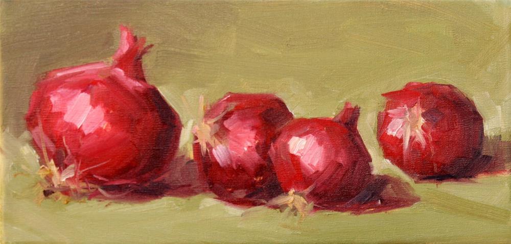 """""""4 in a row"""" original fine art by Carol Carmichael"""
