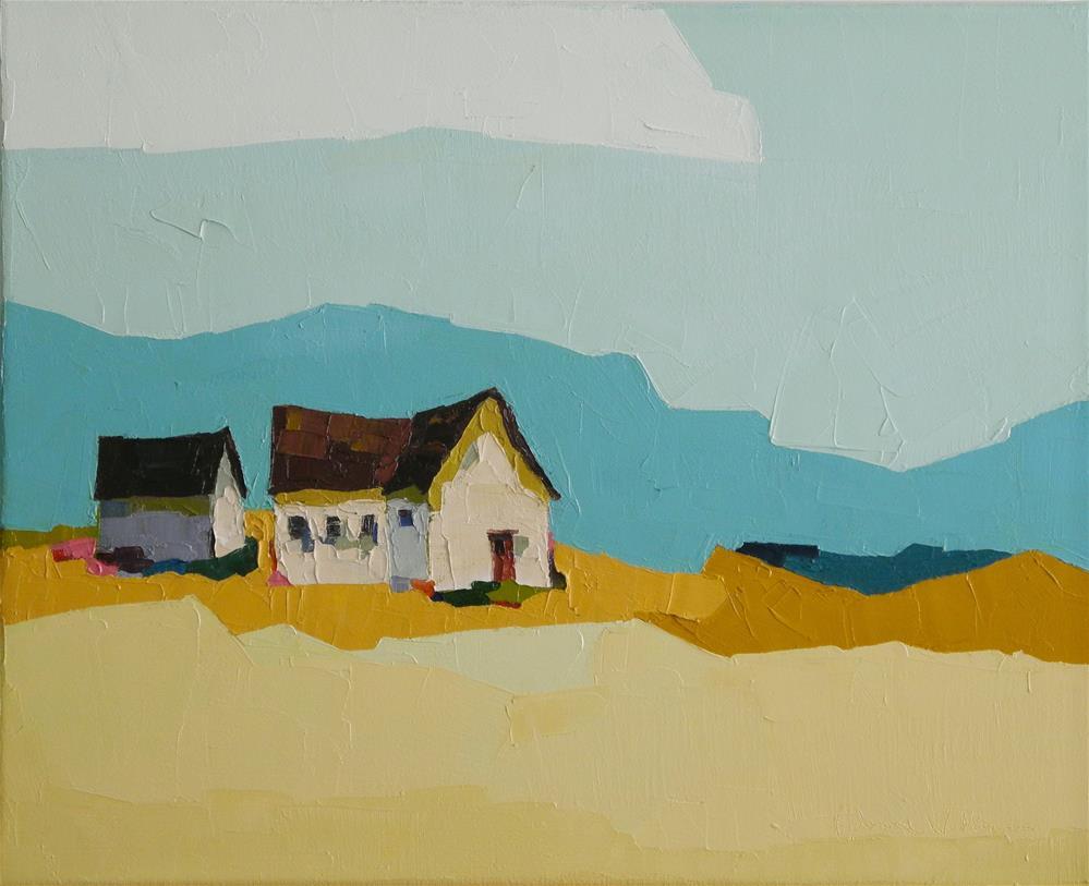"""Edge of Tomorrow"" original fine art by Donna Walker"