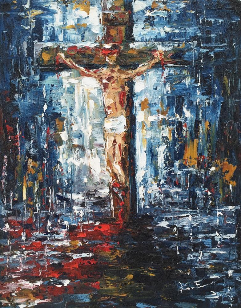 """The Sacrifice"" original fine art by Ken Fraser"