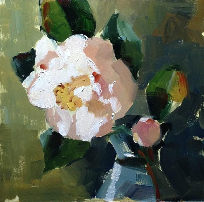 """Spring Blossom Study"" original fine art by Katia Kyte"