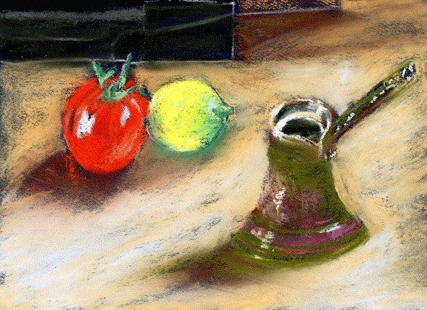 """Richmond Still Life"" original fine art by Donna Crosby"
