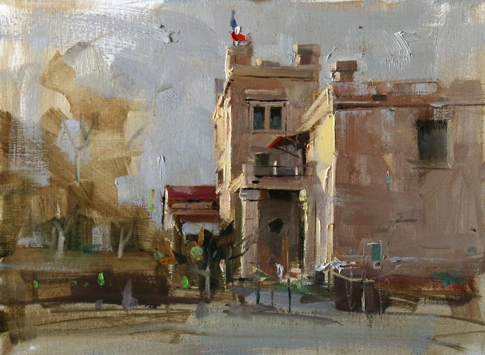 """""""Elisabet Ney Museum"""" original fine art by Qiang Huang"""