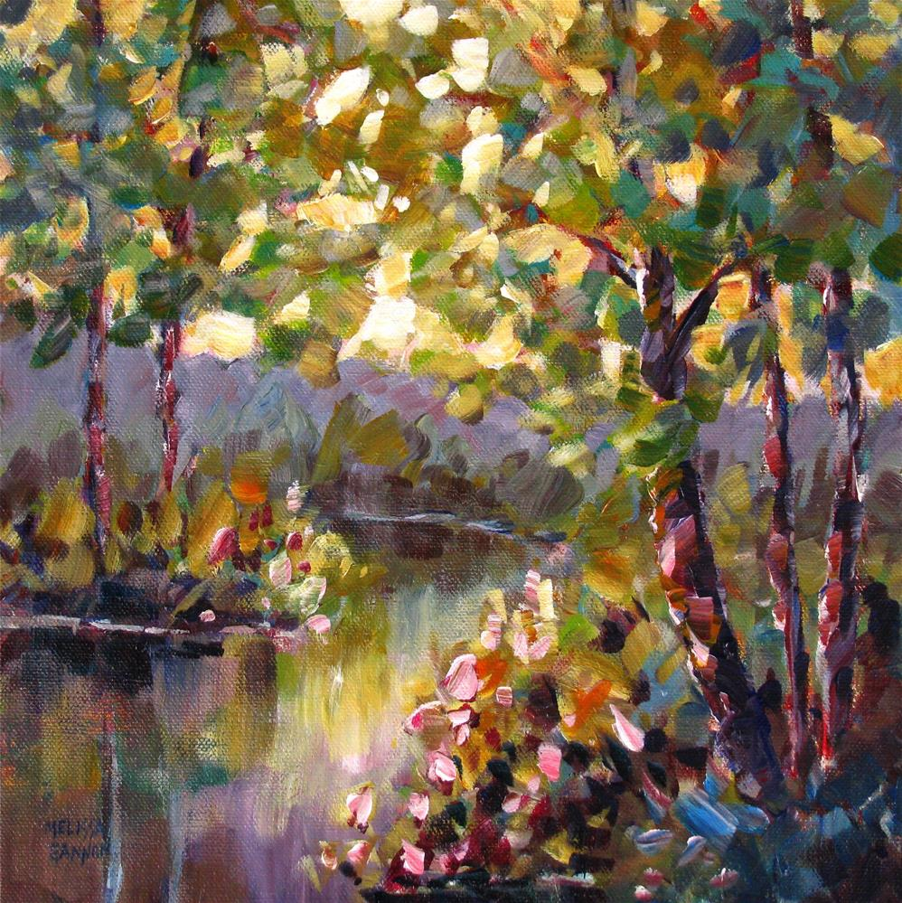 """Greens of Summer"" original fine art by Melissa Gannon"