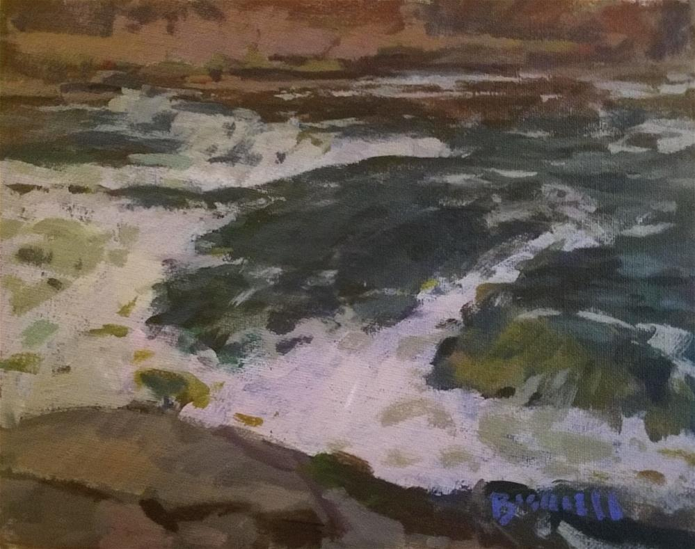 """Turbulent"" original fine art by Roy Boswell"